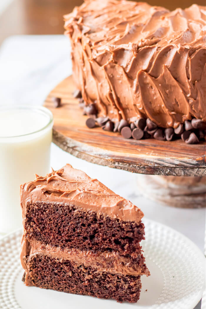 CHOCOLATE CAKE FROSTING