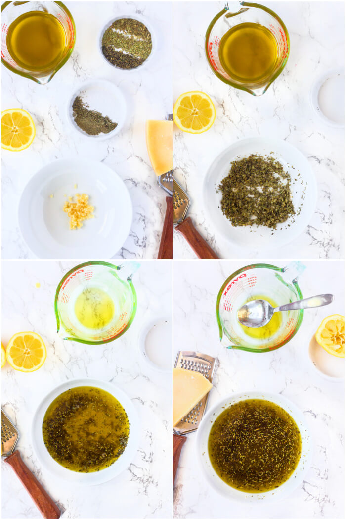 HOW TO MAKE BREAD DIPPING OIL