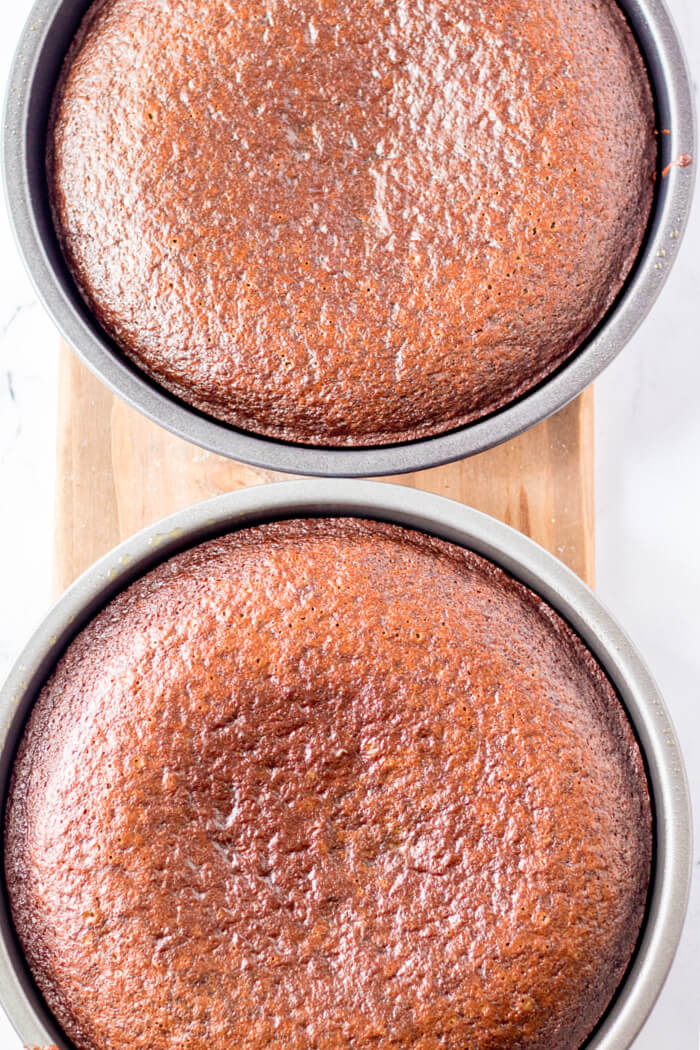 CHOCOLATE CAKE WITHOUT FROSTING