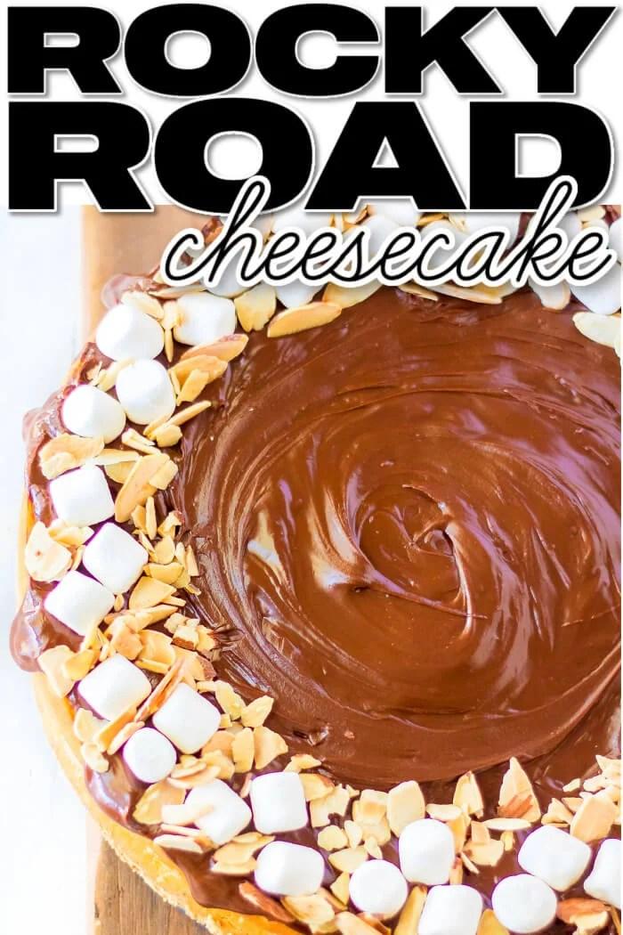 ROCKY ROAD CHEESECAKE RECIPE