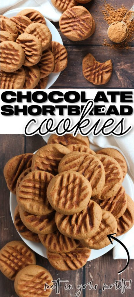 BEST CHOCOLATE SHORTBREAD COOKIES