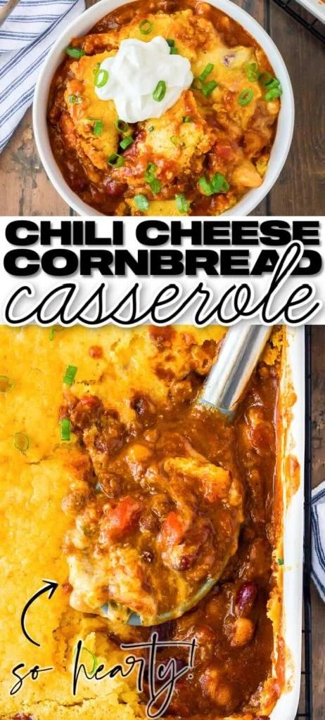 EASY CHILI CORNBREAD CASSEROLE RECIPE