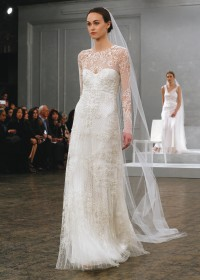 Bridal Wedding Gowns New York  New Jersey   Avant garde Monique Lhuillier   Sarah