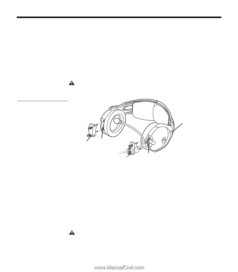 Wire Diagram Aviation Headset Plug