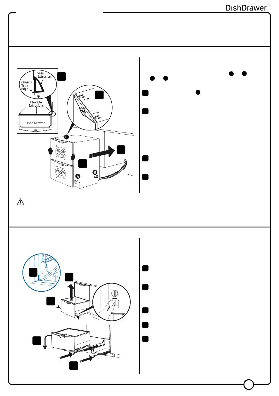 Fisher Paykel Drawer Dishwasher Parts