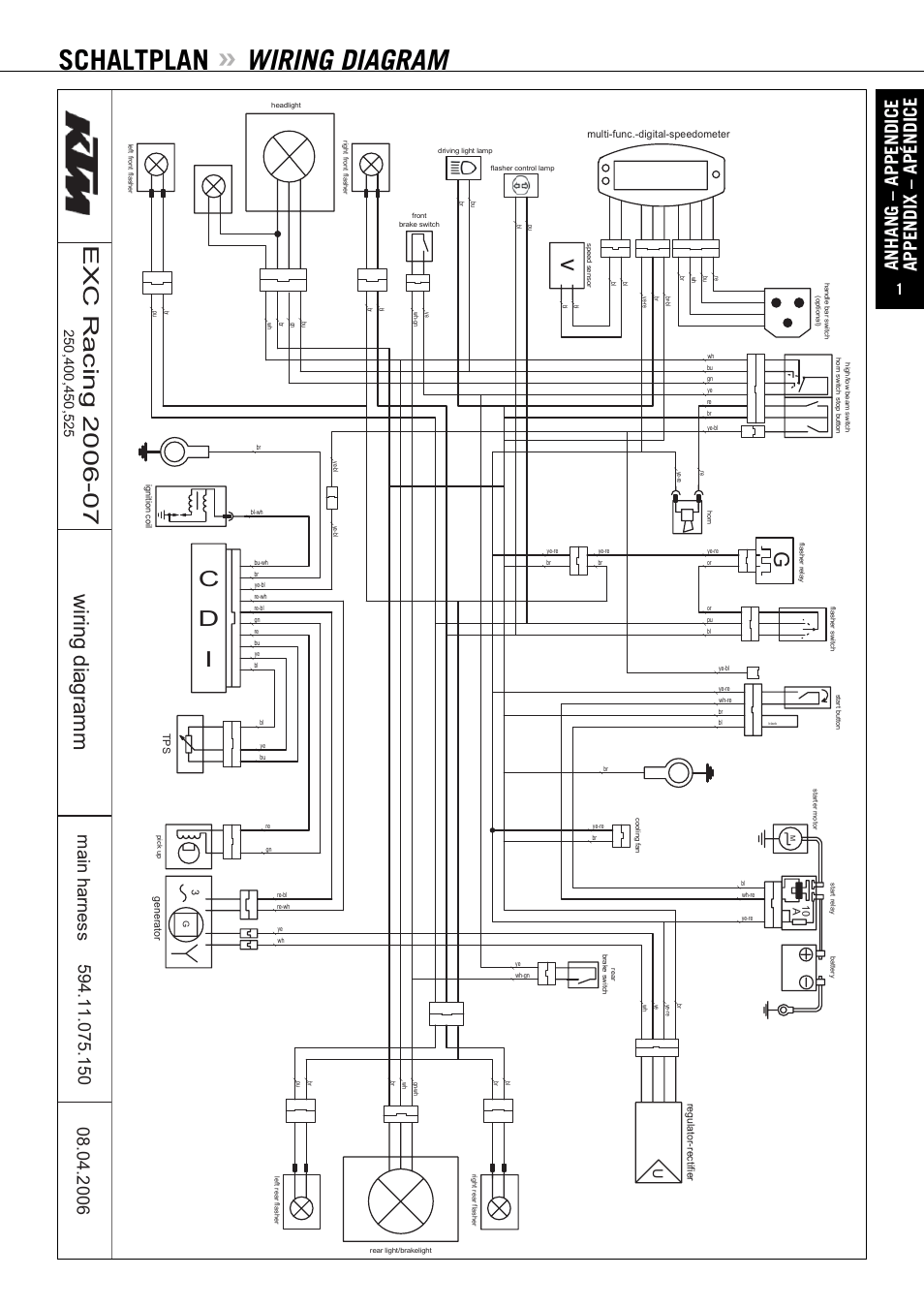 Ktm 990 Adventure Wiring Diagram
