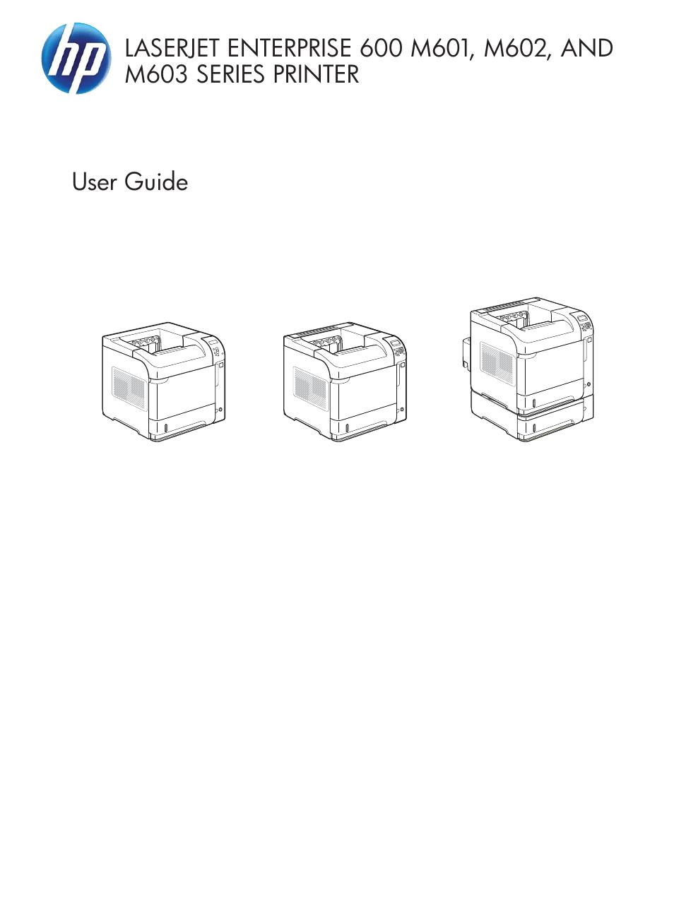 Laserjet 600 M602 Manual