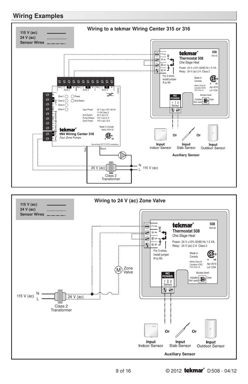 Taco Sr502 Wiring Diagram Schematics Sr504 2 Zone Navien Diagrams
