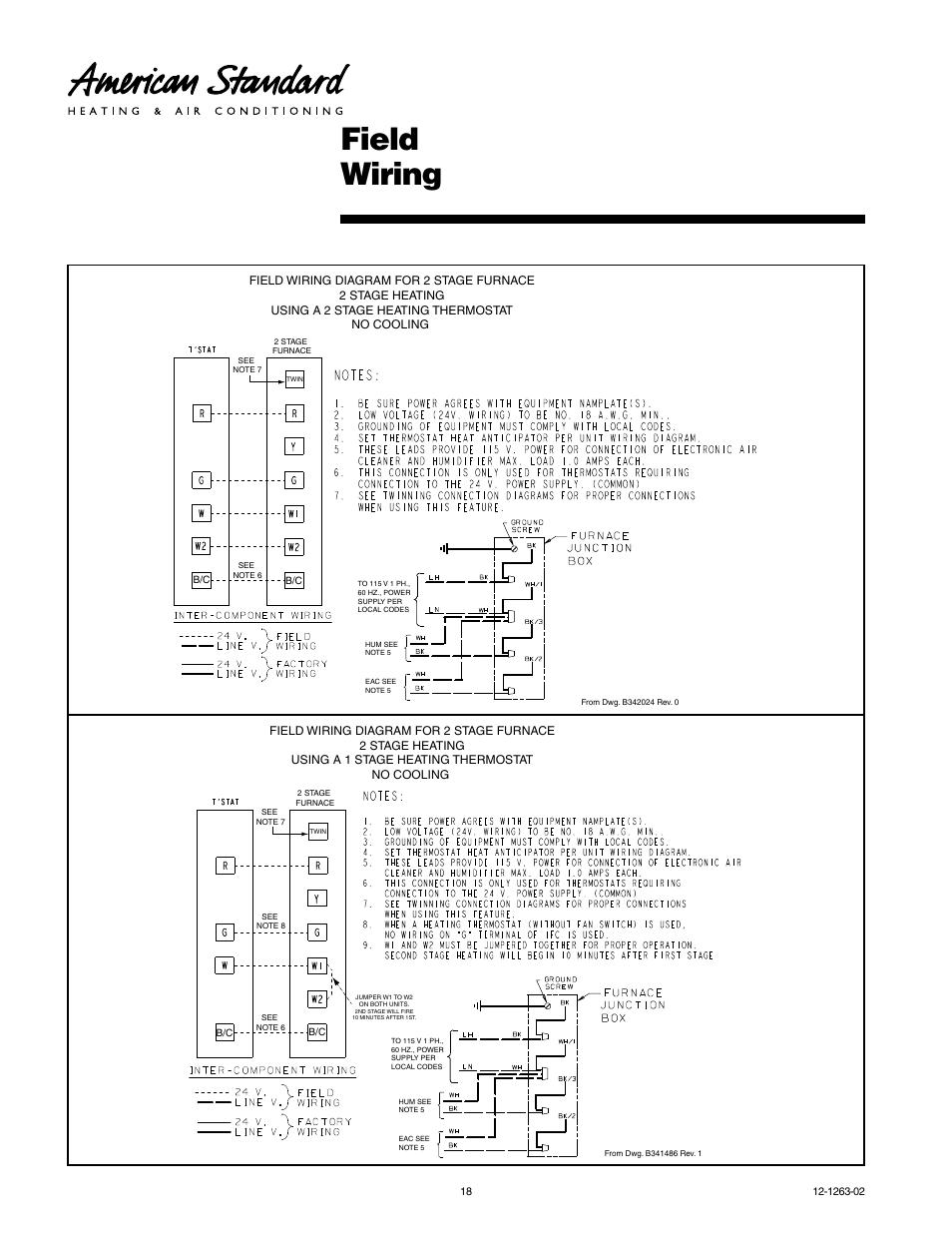American Standard Freedom 80 Manual Ac Wiring Diagram