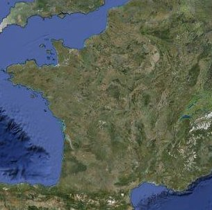 MAP OF FRANCE   Departments Regions Cities   France map Satellite map of France