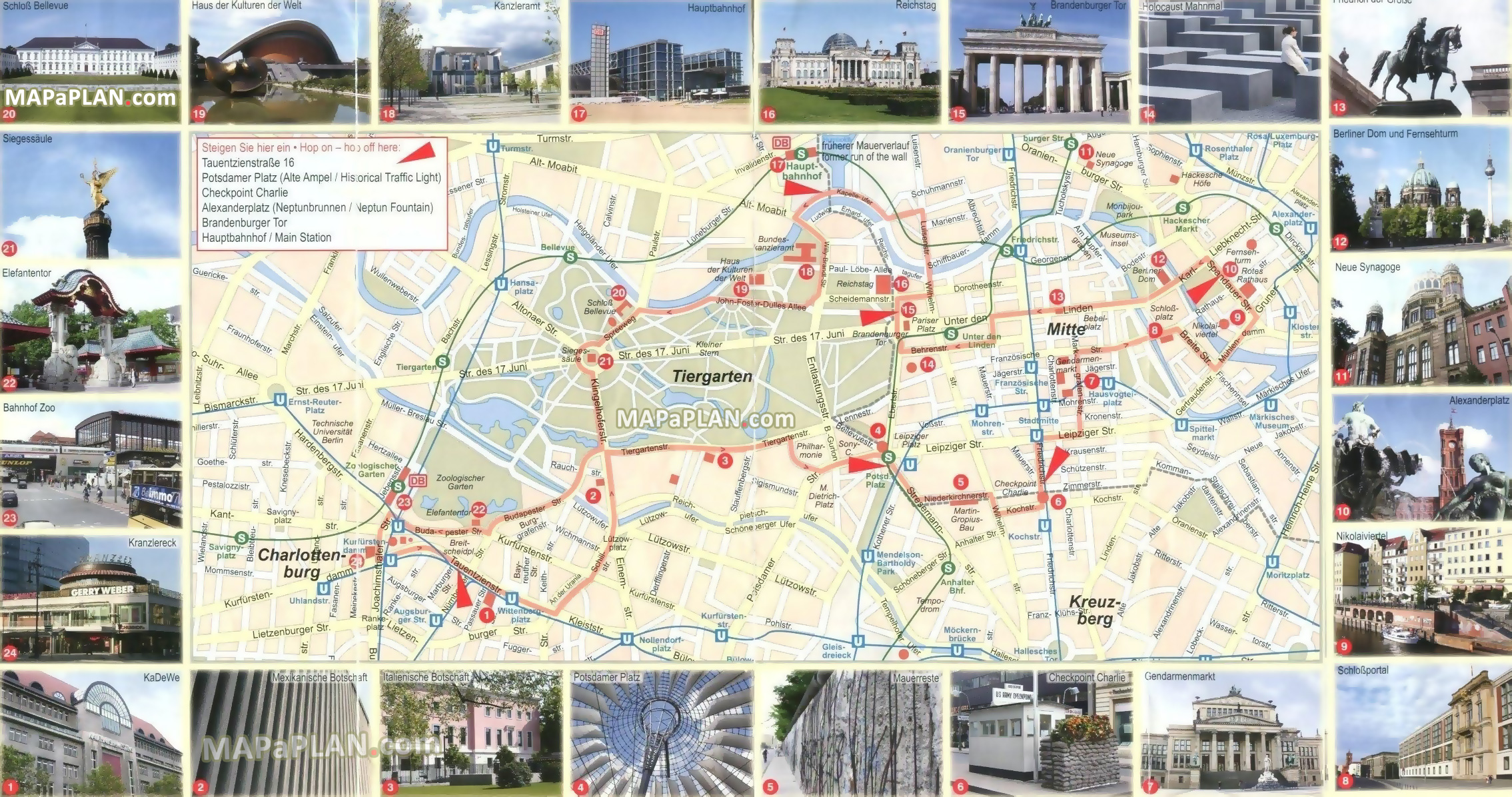 Berlin maps   Top tourist attractions   Free  printable city street map free virtual map 24 images famous travel hotspots historical buildings  brandenburg gate Berlin top tourist attractions