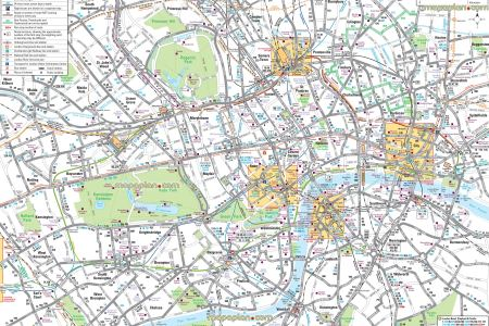 High Resolution London Tourist Map.Best Home Design Map Of Attractions London