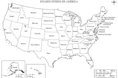 mapa de estados unidos con nombres » Path Decorations Pictures ...