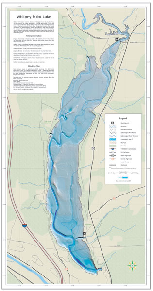 Winter Walleye Fishing River