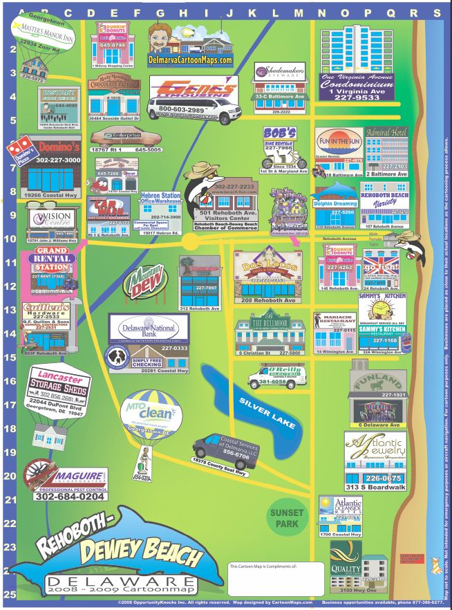 Town Of Surf City Nc Map