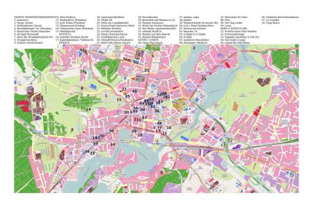potsdam tourist map » Full HD MAPS Locations - Another World ...