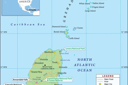 grenada political map » Full HD MAPS Locations - Another World ...