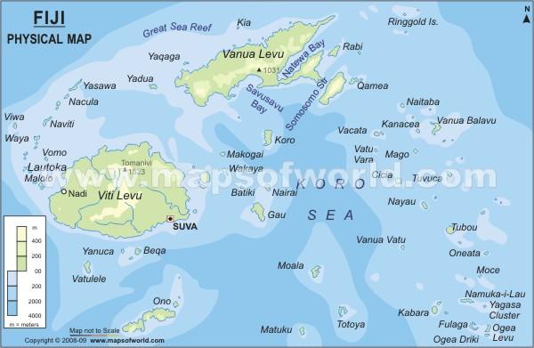 Guinea Papua New Landforms