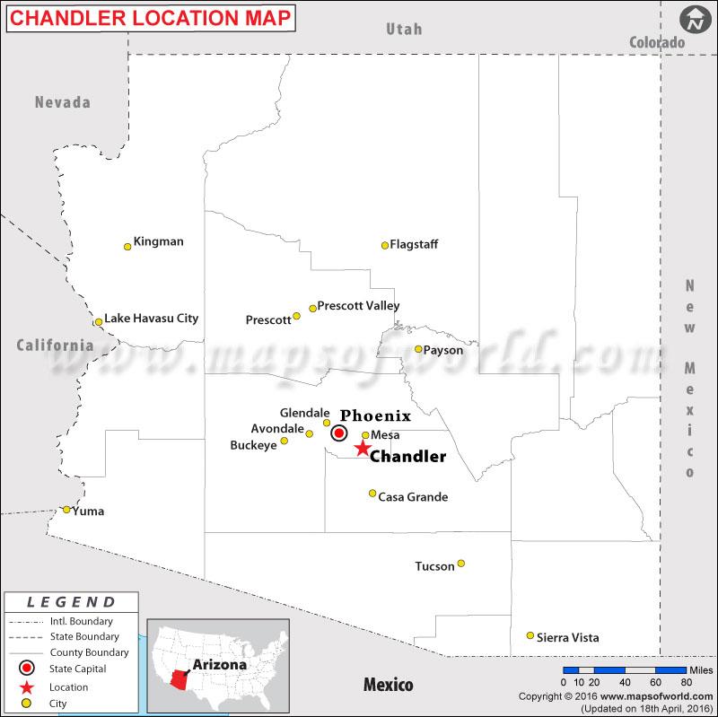 Arizona Codes Cities Zip Map And