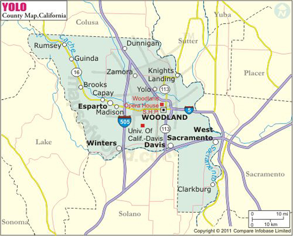 Surrounding Map Ca Richmond Areas And