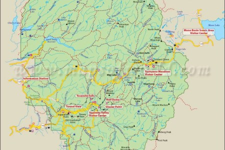 Yosemite National Park Fire Map Path Decorations Pictures Full - Map of california near yosemite