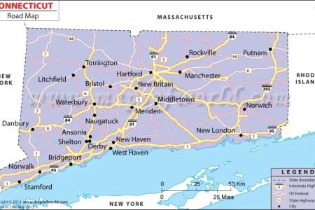 connecticut highway map » ..:: Edi Maps ::.. | Full HD Maps