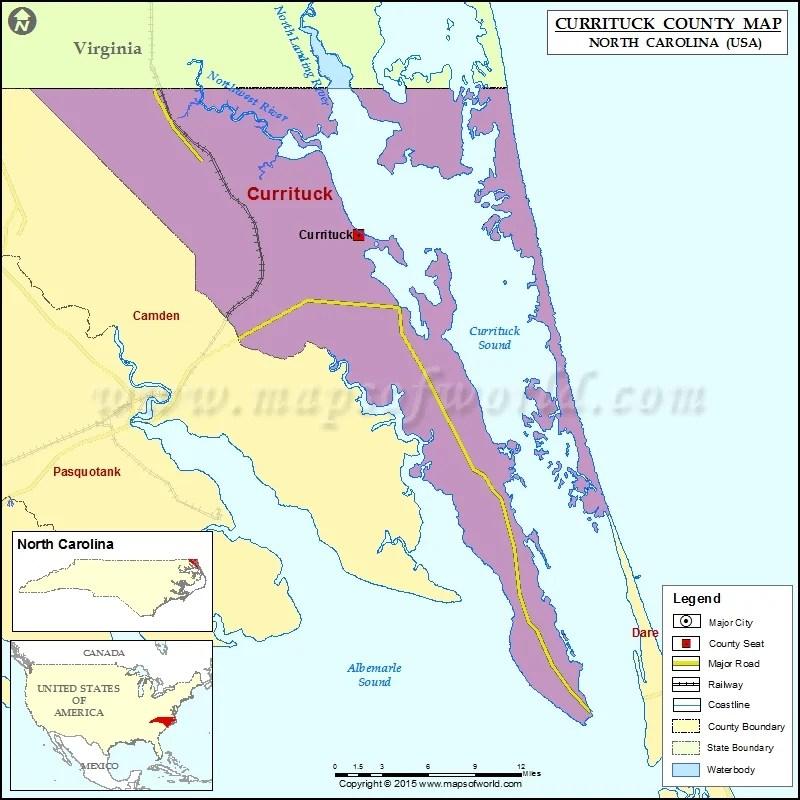 Carolina Map County North Alamance