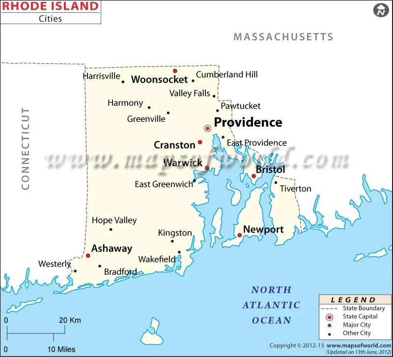 Map Of Warwick Ri Old Maps Of Ri Map Of Rhode Island Map Of - Map of ri