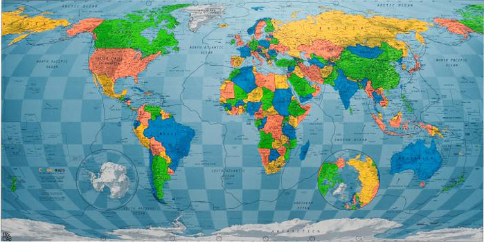 Proportionally Correct World Map Projections