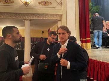 Iniziate le riprese con Roberto Mancini per gli spot promozionali 2022 della Regione