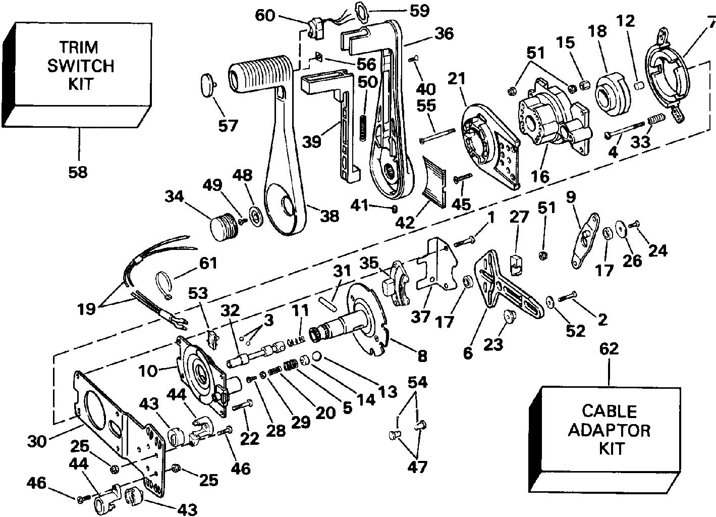 Omc Throttle Control Box Wiring Diagram on