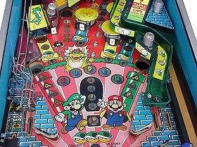 Super Mario Bros Pinball Super Mario Wiki The Mario
