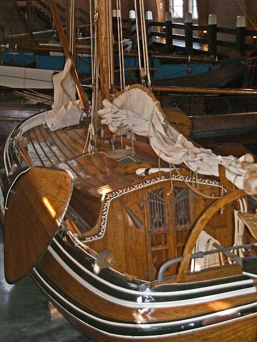 Traditional Dutch Boats Zuiderzee Museum