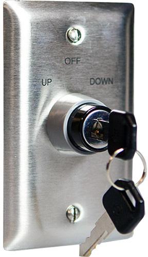 3 Position Keyed Switch 110v