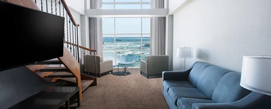 Bi Level Suite Fallsview Room Marriott On The Falls
