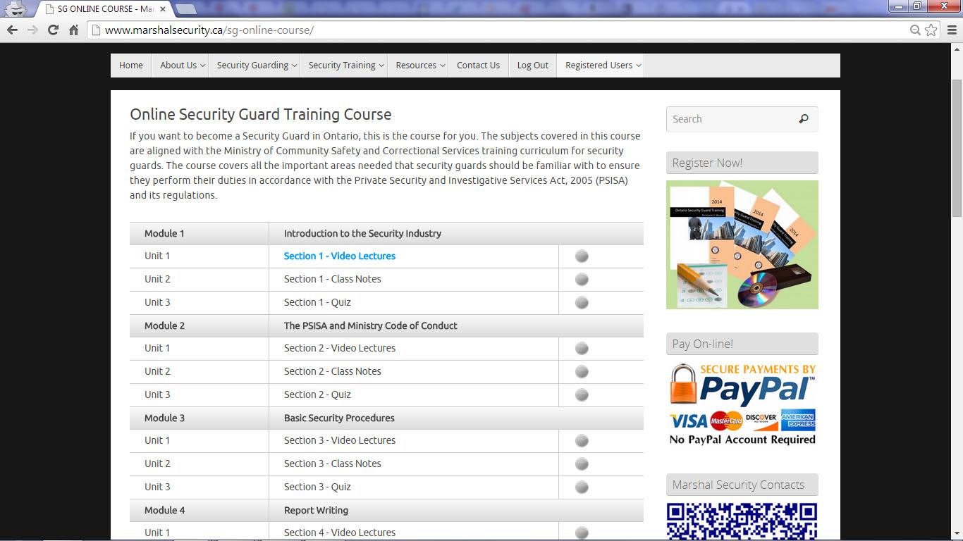 Best Online Security Courses