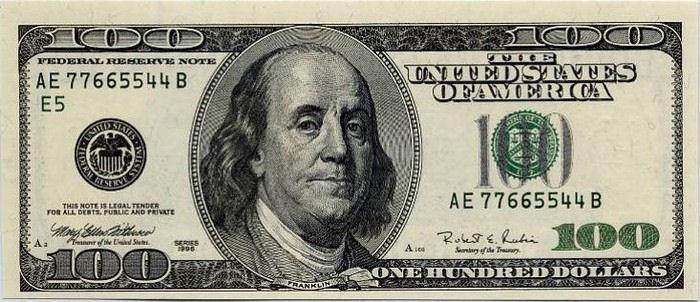 500 dollar bill president
