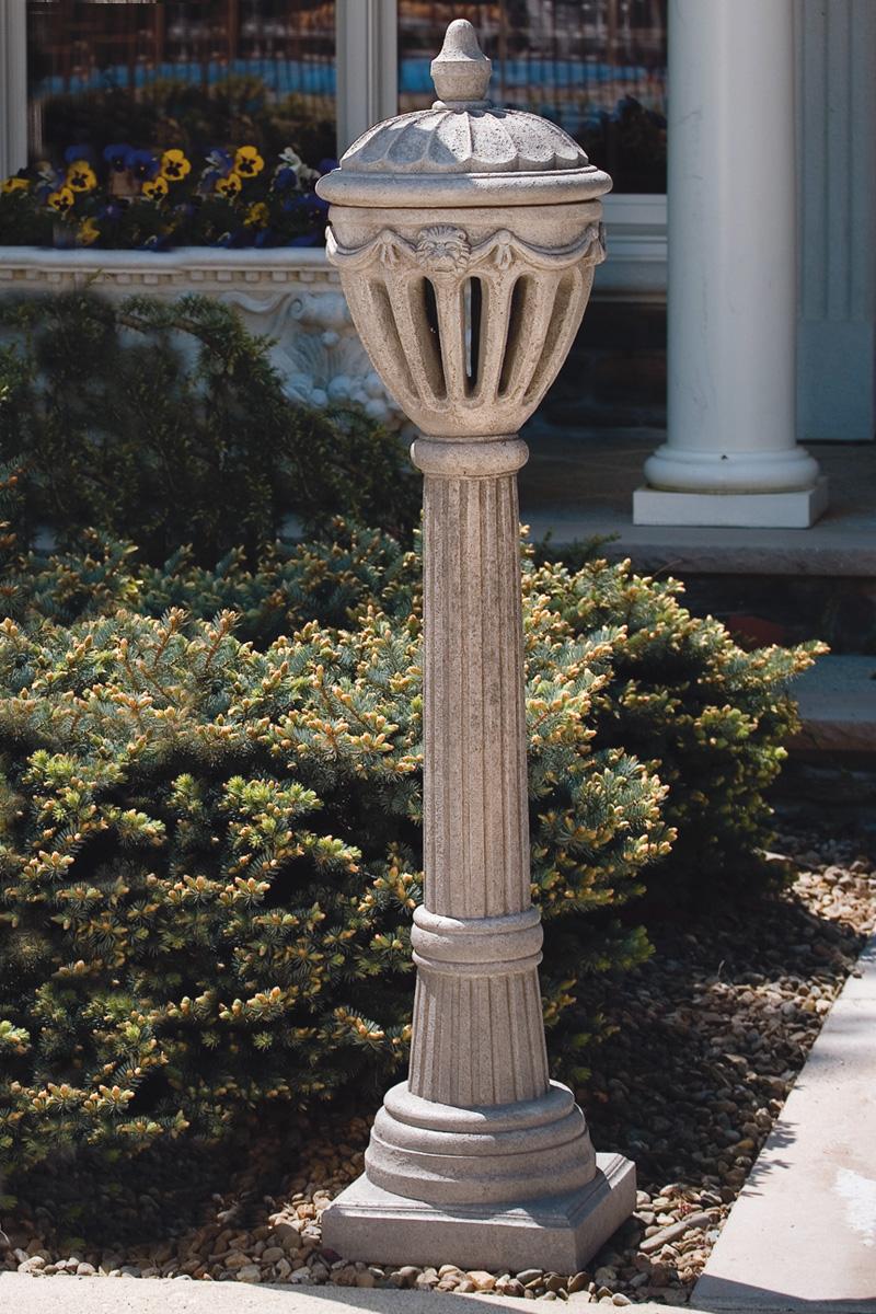 55 Quot Royal Stone Lamp Post Massarelli S