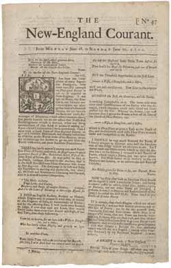 Mhs Collections Online The New England Courant