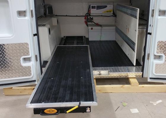 Master 50 Sliding Truck Bed Utility Truck Bodies