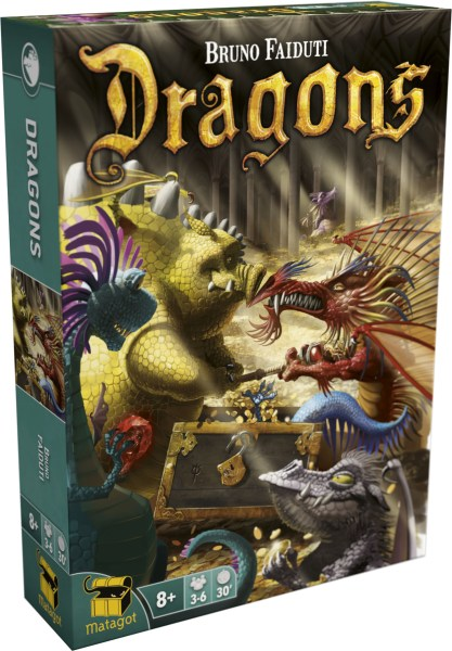 Dragons A GAME BY   Bruno Faidutti