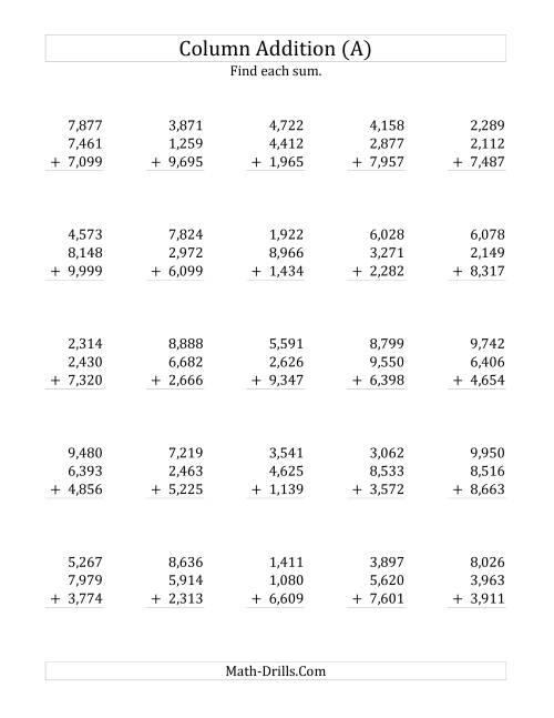 Exelent Math Drills Com Adding And Subtracting Integers Inspiration ...