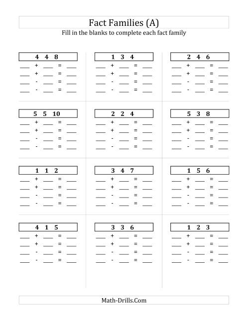 Blank Addition Worksheet Free Worksheets Library | Download and ...