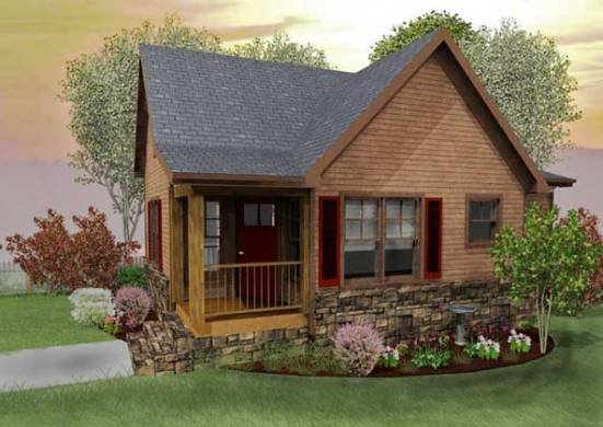 Small Cabin Designs with Loft   Small Cabin Floor Plans rustic small cabin design floor plan