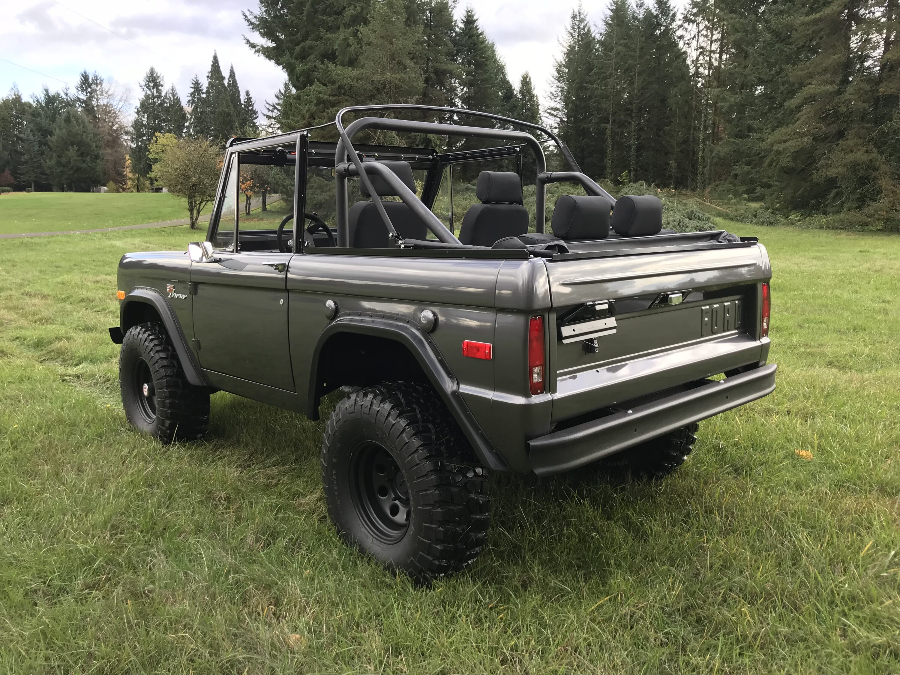 1973 Ford Bronco Charcoal Grey