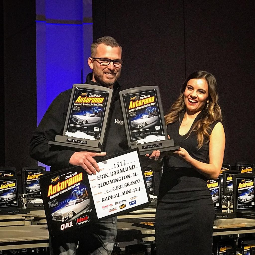Pic 3: Two Awards for Custom Ford Bronco Builds at Detroit Autorama World of Wheels
