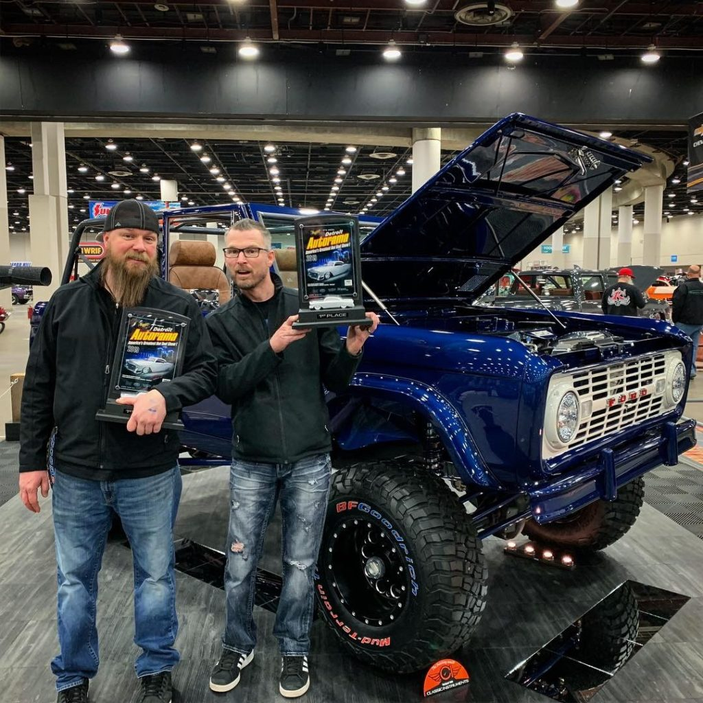 Pic 2: Two Awards for Custom Ford Bronco Builds at Detroit Autorama World of Wheels
