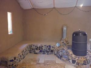 Sweatsville Rocket Stove Thermal Mass Heaters