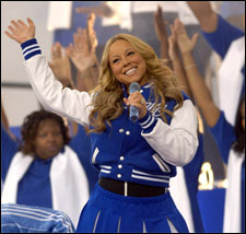 Nfl Thanksgiving Day Halftime Show The Mariah Carey Archives