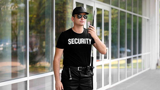 Security Guard Basic Training Program Certificate